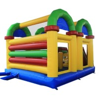 ALEKO Commercial Grade Open Roof Inflatable Bounce House with Slide and Blower   570603505