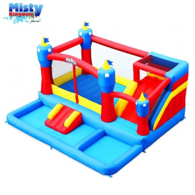 Blast Zone Misty Kingdom Inflatable Bounce and Water Slide Combo   070077715