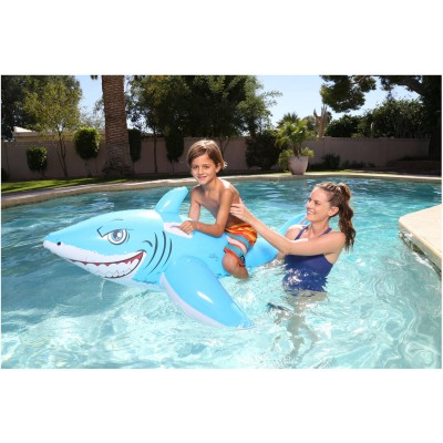 H2OGO! Great White Shark Inflatable Rider   555152312