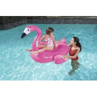 H2OGO! Pretty Pink Flamingo Ride Pool Float   566028264