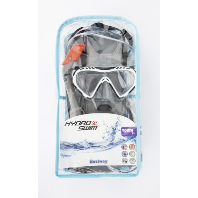 Hydro-Swim Firefish Snorkel Set - Grey   566298290