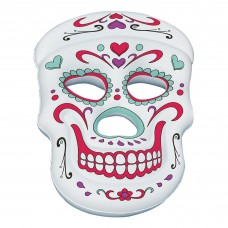 Swimline Sugar Skull™ 62-in x 40-in Inflatable Pool Float   555590369