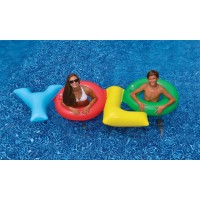 Swimline YOLO Pool Float for Swimming Pools   564179357