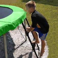 Pure Fun 38-Inch Universal Trampoline Ladder, with 2 Platform Steps, Black   568287645