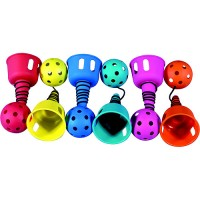Champion Catch-A-Ball Tethered Ball Game, Assorted Colors, Pack of 6   553060201
