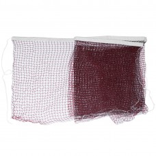 6m Long Nylon Mesh Knotted Badminton Net Burgundy for Training