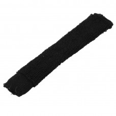 Unique Bargains Unique Bargains Pullover Style Stretchy Nonslip Tennis Badminton Racket Towel Wrap Grip Black