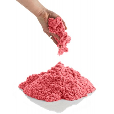 CoolSand 2 lb. Refill - Sparkling Kinetic Play Sand For All Ages - Orange Citrine   566221326