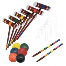 Franklin Sports 6 Player Combo Croquet Game Set