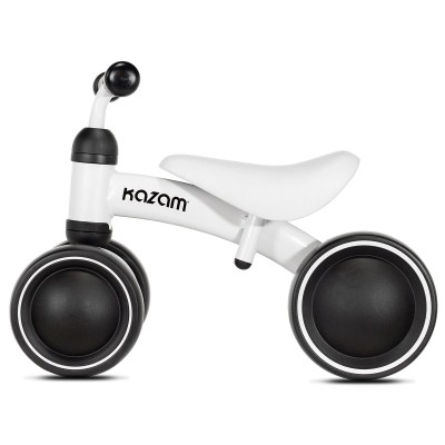 KaZAM Lightweight Durable Safe & Comfortable Mini Ride On Toddler Trike, White