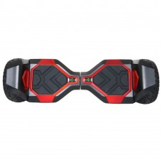 "Hoverboard 8"" Hummer Auto Self Balancing Wheel Electric Scooter with Built-In Bluetooth Speaker - Black"