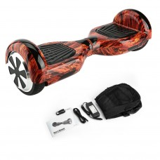 LEQI 6.5 Inch Hoover Board Hoverboard UL Certified Smart Drifting Scooter Skateboard Self-Balancing Two-Wheel Scooter, Female Red   570913957
