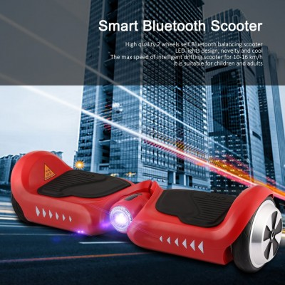 Red Hoverboard Self Balancing Chic Kid Electric Hoverboard With Led Light Two Wheels Self Balancing Scooter   570751776