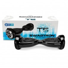 SWAGTRON T5 Entry Level Hoverboard for Kids/Young Adults; Optional Learning Mode; Patented Battery Protection (Black)   564190325