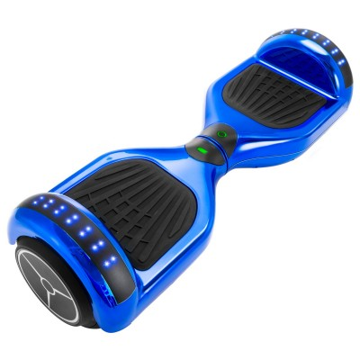XtremepowerUS Self Balancing Electric Scooter Hoverboard UL CERTIFIED, Chrome Blue   570009737