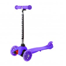 Adjustable Kids Push Kick Scooter with Light Up Wheels   568266028