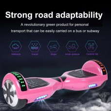 Bluetooth 6.5 Inch Self Balancing Electric Scooter LED Electric Skate Board with Free Carry Bag   570765043