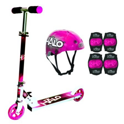 HALO PREMIUM SCOOTER COMBO SET - PINK   565430731