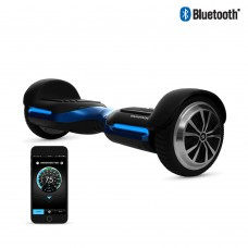 SWAGTRON T580 Hoverboard with Bluetooth Speakers - App-enabled Self Balancing Scooter, Black   566811448