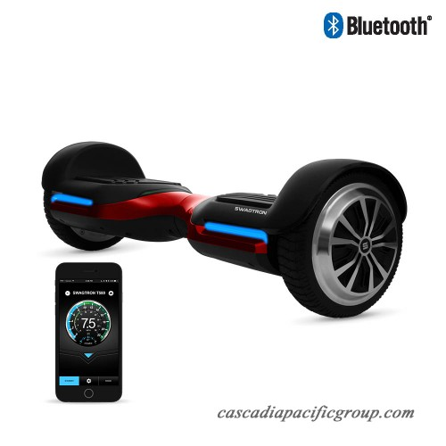 swagtron t580 hoverboard with bluetooth speakers app. Black Bedroom Furniture Sets. Home Design Ideas