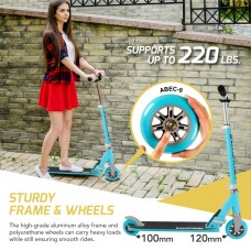 Swagtron K1 Kick Scooter Adjustable 40'' Kids up to 72'' Teens Girl or Boy   570423320