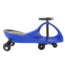 Ride On Car, No Batteries, Gears or Pedals, Uses Twist, Turn, Wiggle Movement to Steer Zigzag Car by Lil' Rider   565899498