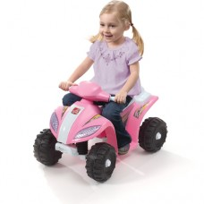 Step2 Mini Quad 6-Volt Battery-Powered Ride-On, Pink   552015991