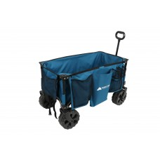 Ozark Trail All-Terrain Wagon with Oversized Wheels, Blue   566384565
