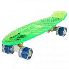 "22""Upgrade Cruiser Crystal Outdoor Complete Skateboard For boys girls"
