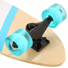 Holiday Special Buy New Boys and Girls Drop Down Long Board Complete Skateboard Maple Wood Cruiser Skateboard BYE