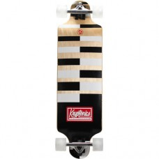 "Kryptonics Drop-Down Longboard Complete Skateboard, 32"" x 8"""