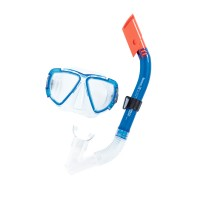 HYDRO-SWIM Blackstripe Snorkel Set - Red   566298279