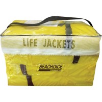 Seachoice Adult Universal Type II Life Vest Pack, Yellow , 4-Pack   552700914