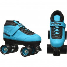 Epic Nitro Turbo Blue Quad Speed Roller Skates   554939872
