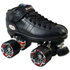 Riedell R3 Black Quad Speed Skates