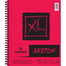 Canson XL Recycled Spiral Sketch Pad: 9 x 12 inches   551139039