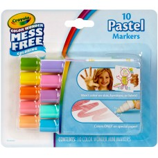 Crayola Color Wonder 10 count Mini Markers in Pastels   556258668