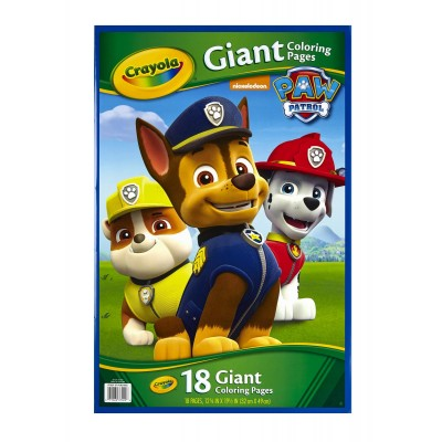 Crayola Giant Coloring Pages Nickelodeon Paw Patrol   556068701
