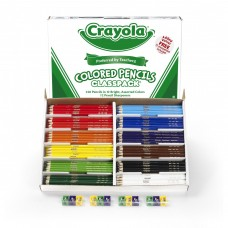 Crayola® Colored Pencil Classpack, 12 Colors, 240 Count   000350725