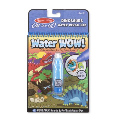 Melissa & Doug On the Go Water Wow! Reusable Water-Reveal Activity Pad – Dinosaurs   568086332