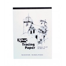 Sax Tracing Paper Pad, 25 lb, 11 x 14 Inch, Pack of 50 sheets   569838502