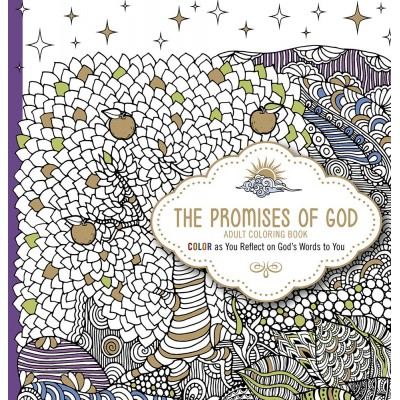 The Promises of God Adult Coloring Book (Paperback)   563603152