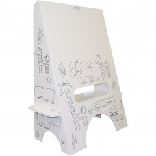 Kids Easel, Jungle Animals   553934459