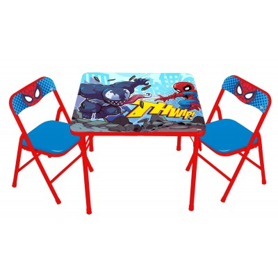 Spider-man Superhero Adventures Erasable Activity Table Set   562941409