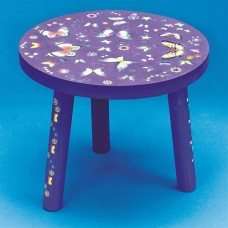 3-Legged Stool Unfinished Unassembled   552056066