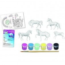 Breyer Stablemates My Dream Horse Fantasy Horse Paint Kit with 5 Horses   563611381