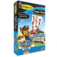 Colorforms Create A Story Re-Stickable Sticker Set - Paw Patrol   554770829