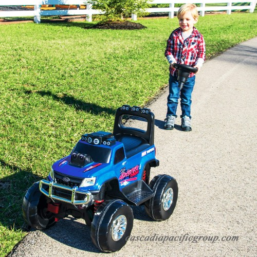 Huffy 12V Battery-Powered Remote-Control Monster Truck Ride