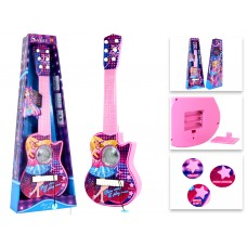 Rock Girls Royals Plastic Toy Guitar