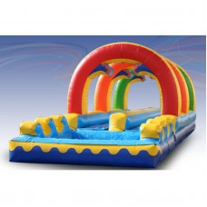 EZ Inflatables Dual Lane Slip and Slide